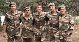 Ünlü isimlerin bedelli askerlik fotoğrafları
