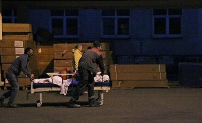 Rusya'da hastane yangını: 1 ölü