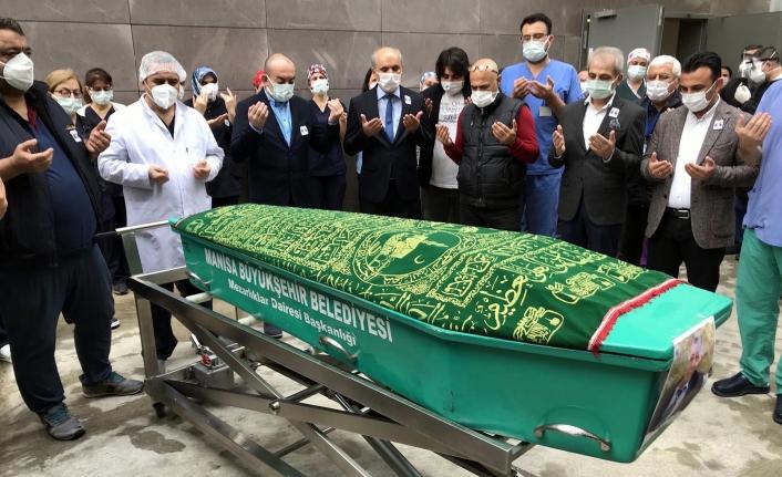 Covid'den Vefat Eden Sağlıkçıya Tören Düzenlendi