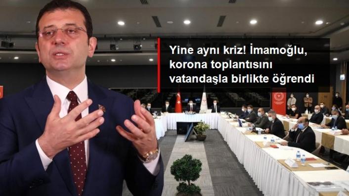 İmamoğlu İstanbul'daki Salgın Toplantısına Çağrıldı mı?