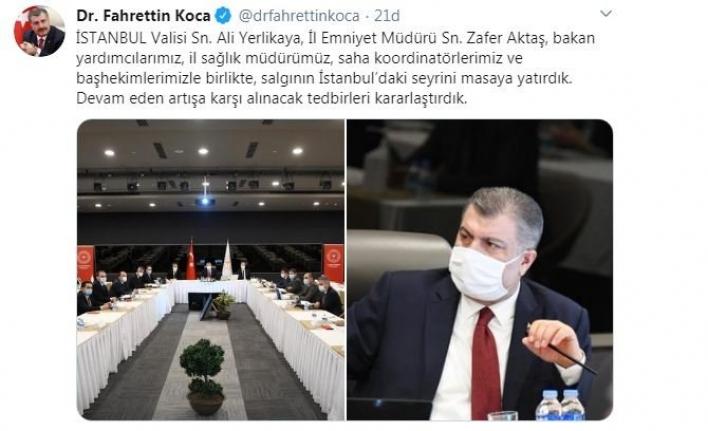 İstanbul için kritik korona toplantısı.