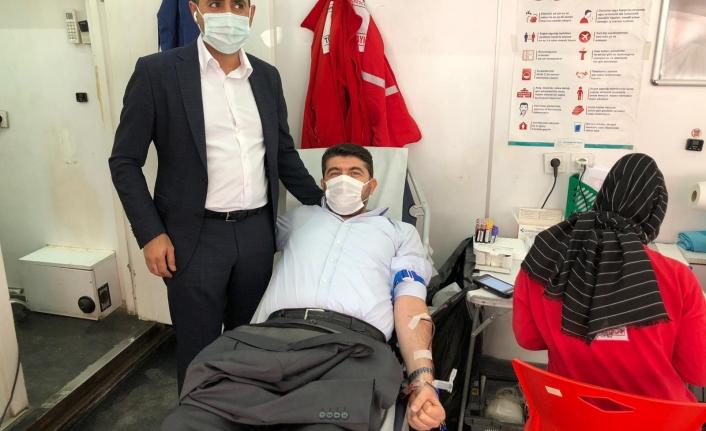 Şırnak Sağlık Sen Başkanı Gıyasettin Uçaş'dan Kızılay'a Kan Bağışı Yapın Çağrısı