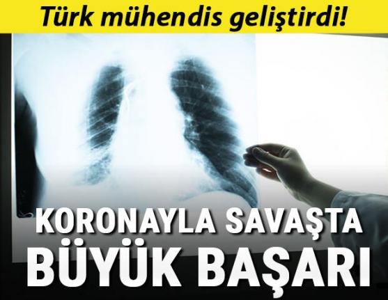 Türk mühendis geliştirdi! Korona teşhisinde büyük başarı
