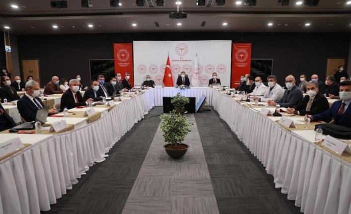 Bakan Koca İstanbul'da Sağlık Yöneticileri İle Bir Araya Geldi