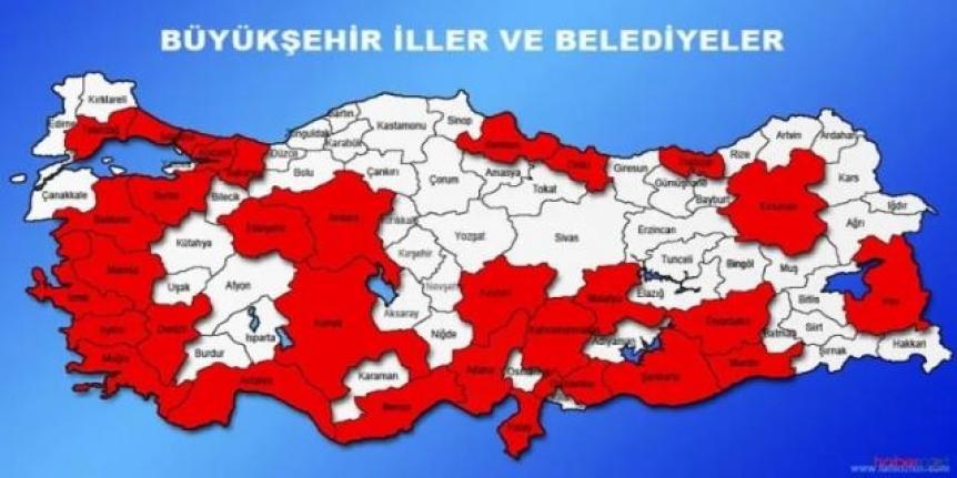 AK Parti harekete geçti: 51 il daha büyükşehir oluyor!