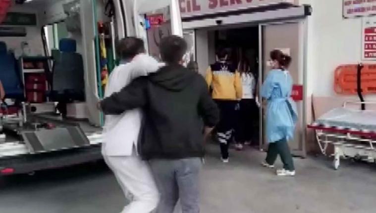 Ambulanstan indirdiği yaralı babası çıktı