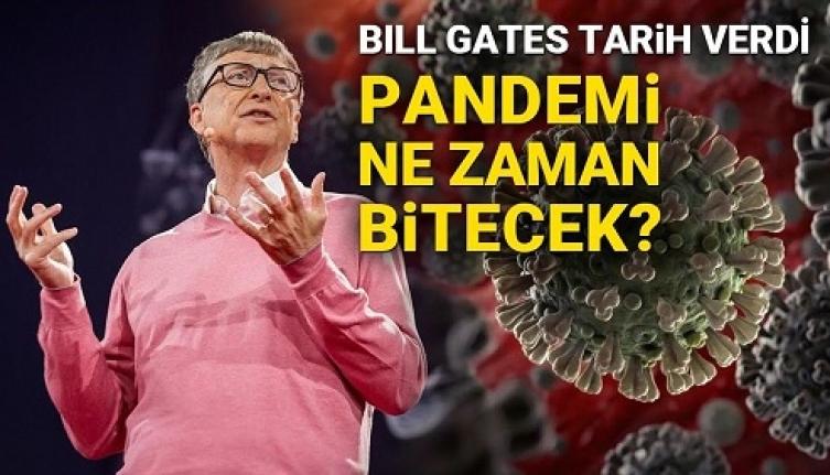 Bill Gates Pandeminin Ne Zaman Biteceğini Açıkladı