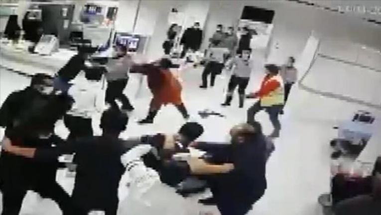 Hastanedeki şiddet olayında 9 hasta yakınına 13 bin 410 lira ceza