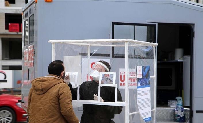 Kastamonu'da Kovid-19 vakaları yerinde tespit ediliyor