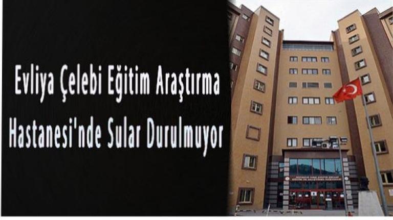 Kütahya Evliya Çelebi Eğitim Araştırma Hastanesinde Sular Durulmuyor.