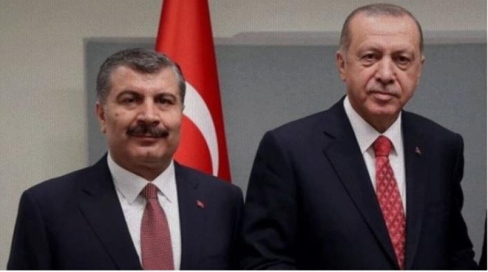 Sözcü Yazarı: Erdoğan, Bakan Koca'yı Değiştirmez