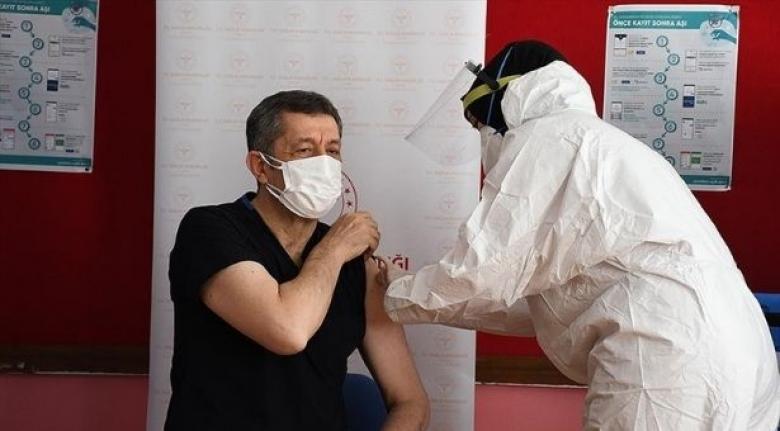 40 yaş üstü öğretmenlerin aşı randevusu açıldı