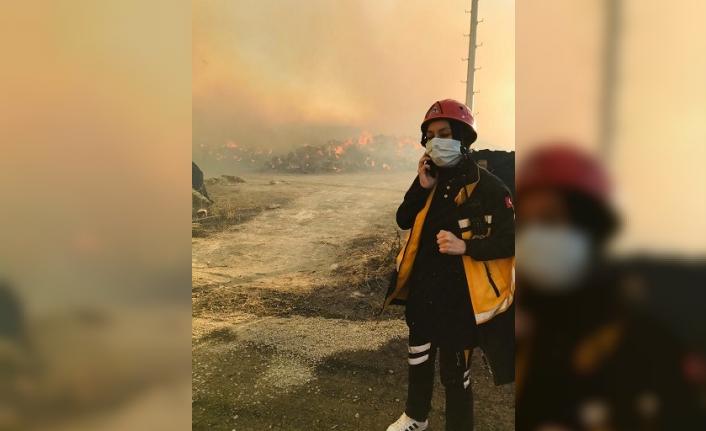 Afyon'da 112 ve UMKE'den Taktire Şayan Çalışma