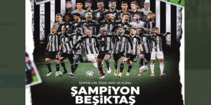 Beşiktaş şampiyon oldu!