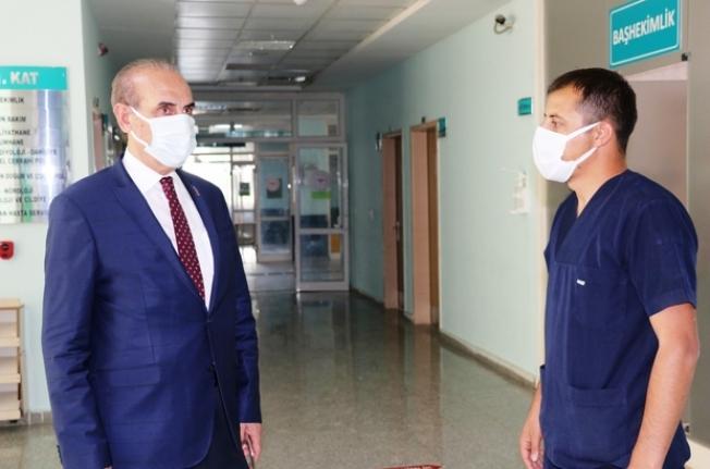 Devlet Hastanesi başhekimi değişti