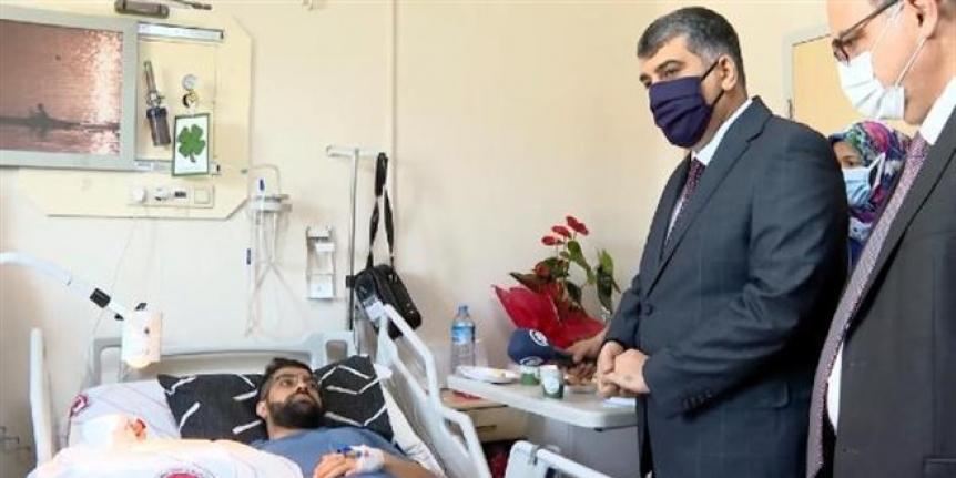 Doktoru bıçakla yaralayan şüpheli tutuklandı