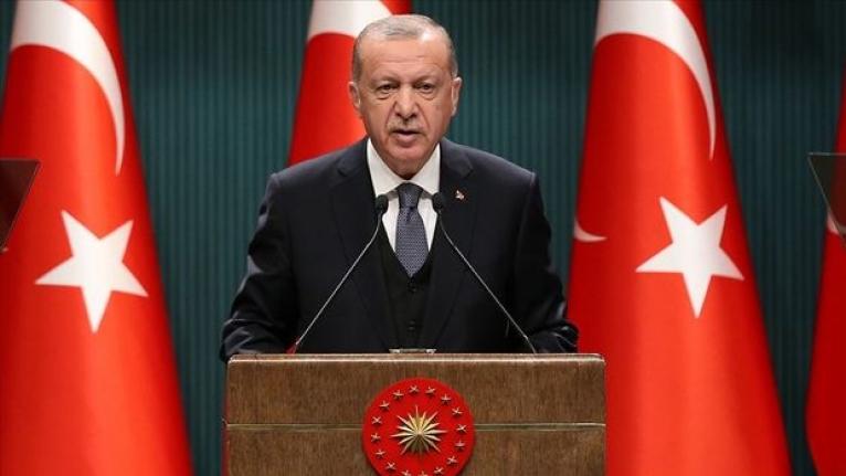 Erdoğan: Salgını yeniden büyük ölçüde kontrol altına aldık