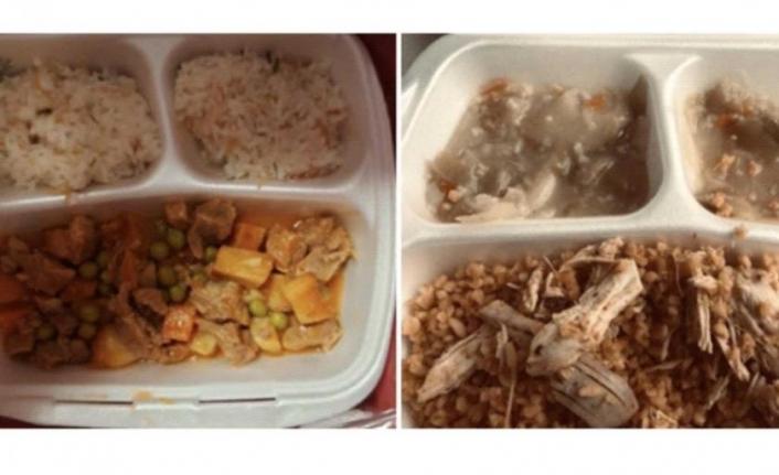 Hastane yemeklerinin yetersizliğine tepki