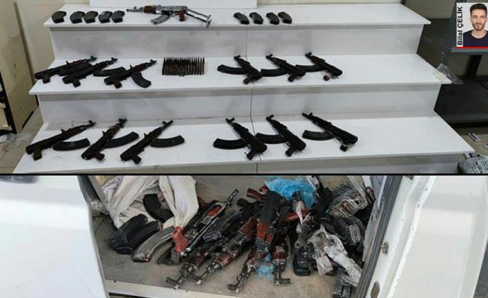 İl Sağlık Müdürlüğü'ne ait resmi araçta  silah yakalandığını öne sürüldü