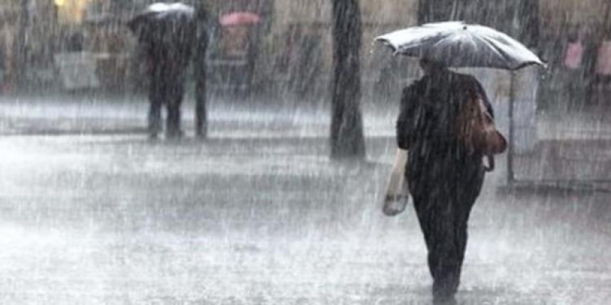Meteoroloji saat vererek uyardı: Kuvvetli yağış bekleniyor