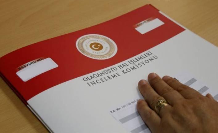 OHAL Komisyonu'na yapılan 14 bin 72 başvurunun ise kabul edildi