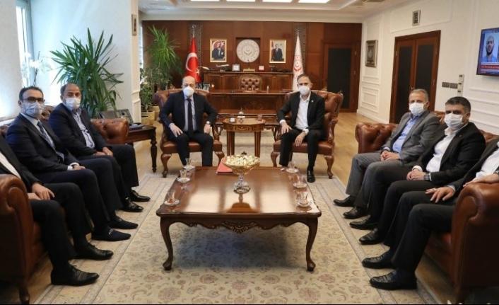 Sağlık Çalışanlarının Talep ve Beklentileri Çalışma Bakanına Anlatıldı