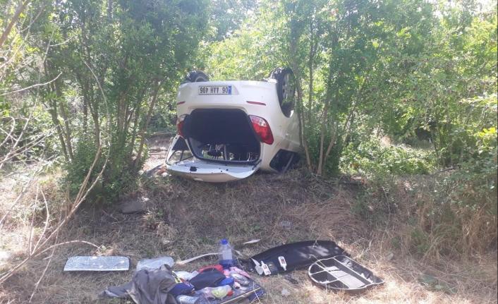 BİLECİK'TE 3 Sağlık Çalışanı Kazada Yaralandı