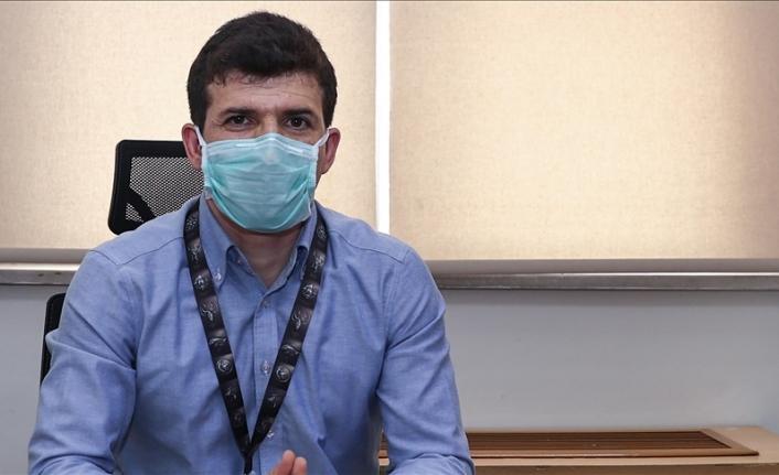 Doktor baba, Hasta olarak dünya ya gelen oğluna destek oluyor