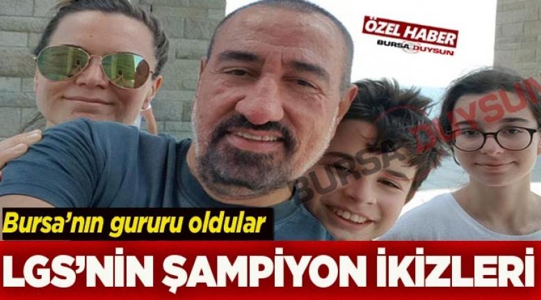 Doktor baba ve öğretmen annenin ikizleri Türkiye şampiyonu