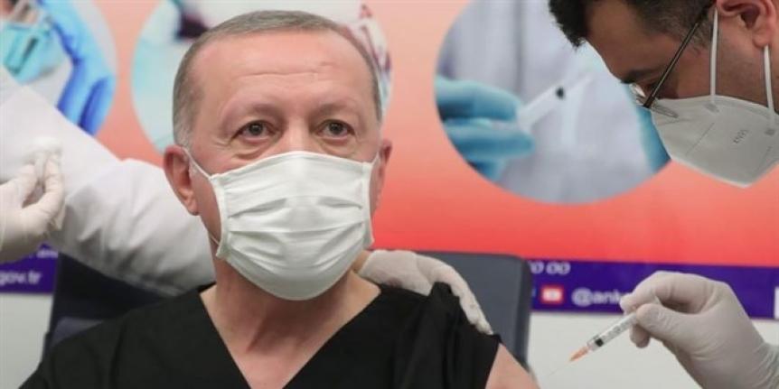 Erdoğan: BioNTech aşısı oldum, antikor da oluştu, tavsiye ederim