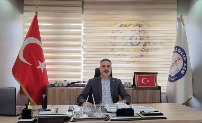 Hatay Sağlık Sen Başkanı GÖNÇ ;İdlip Sadece Hatay 'ın Sorunumu ?