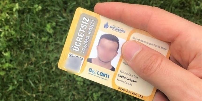 'İBB Sağlık çalışanları kartı süresiz olsun'