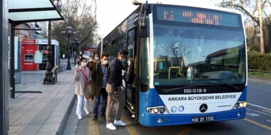 Ankara'da da Sağlıkçıların Ücretsiz Toplu Taşıma Hakkı Sona Erdi