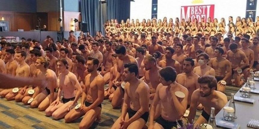 Best Model Türkiye elemesi değil sanki mülteci kampı!
