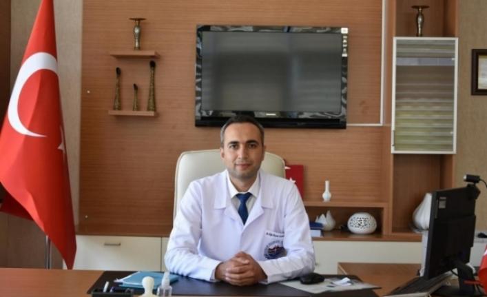 Eğitim Araştırma Hastanesi Başhekimi göreve başladı