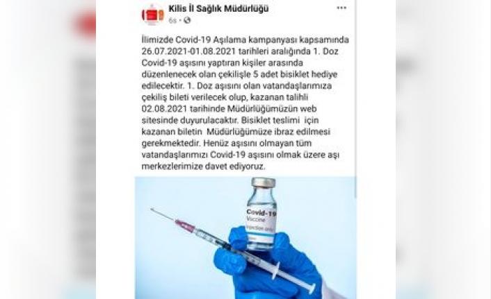 İl Sağlık Müdürlüğünden Aşılamada Örnek Kampanya