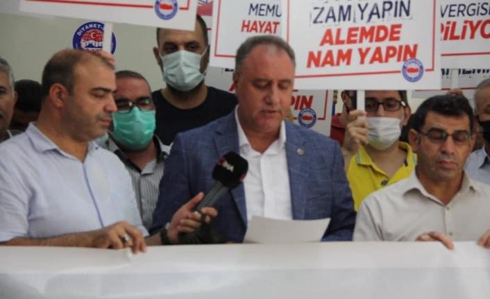 Memur-Sen İl Başkanı Ensarioğlu'ndan Memur Maaşı Açıklaması