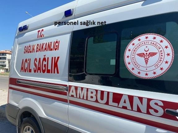 Sahte Polis 112 Ambulansındaki Hasta ve Personele Korkulu Anlar Yaşattı !