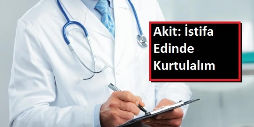Akit Gazetesi Doktorları ve CHP'yi Hedef Aldı