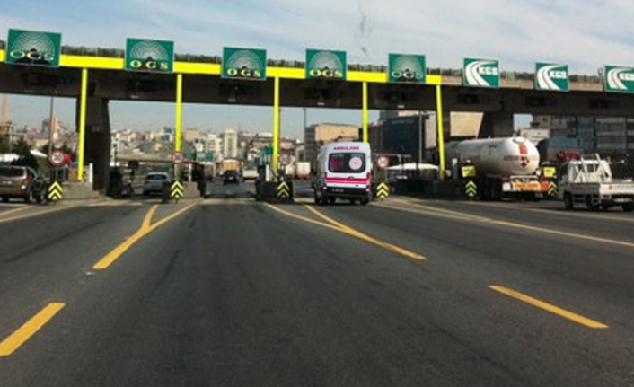 Ambulansların Köprü ve Otoyollardan Ücretsiz Geçişi İçin Başvuru
