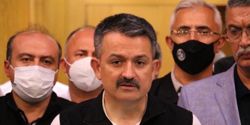 Bakan Pakdemirli: 3'ü Türk, 8 çalışma arkadaşımızı kaybettik