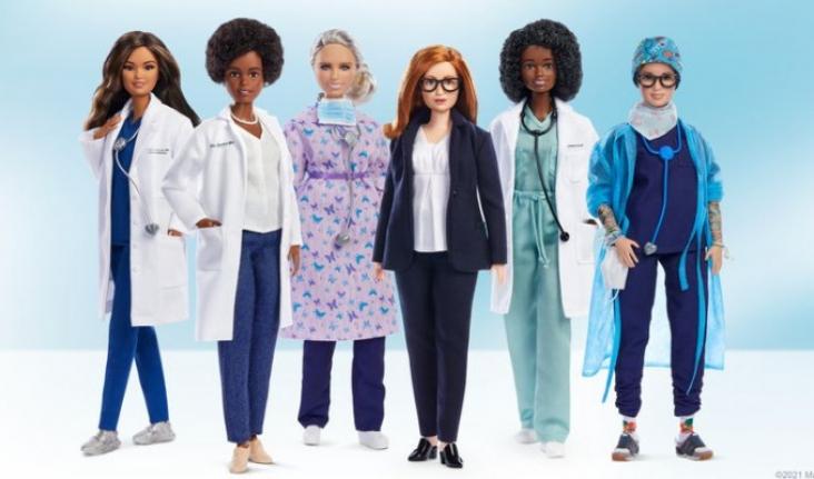 Barbie, sağlık sisteminden 6 kadın için rol model serisi çıkardı