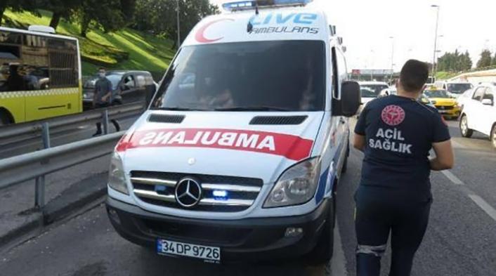 Çakarlı araç denetiminde iki ambulansa ceza