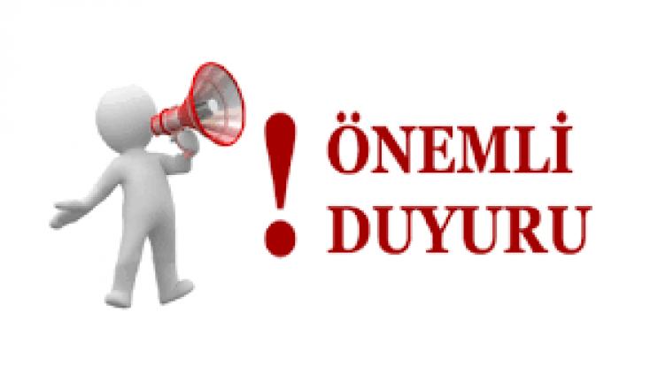 Devlet Hizmeti Yükümlülüğü Mazeret (Eş ve Sağlık) Kurası Ön Başvurularının  alınması