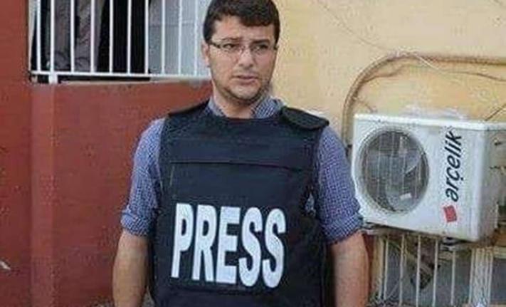 Haber takibi yapan gazetecinin darp edildiği iddiası