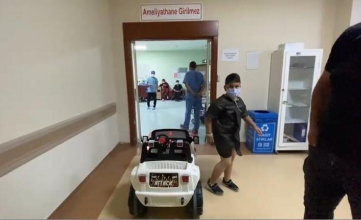 Hastanede çocuklar sünnet olmaya artık güle oynaya gidecek