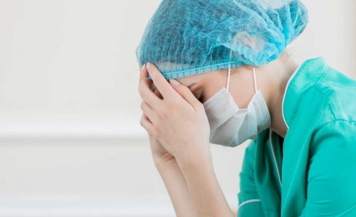 Sağlık çalışanlarında genel bir umutsuzluk ve bıkkınlık var