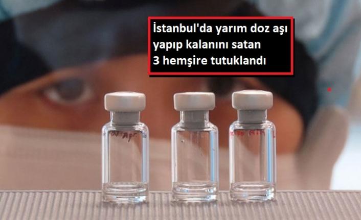 Aşı Şişlerinin Dolusu 150, Boşu 20 TL'den Sattılar