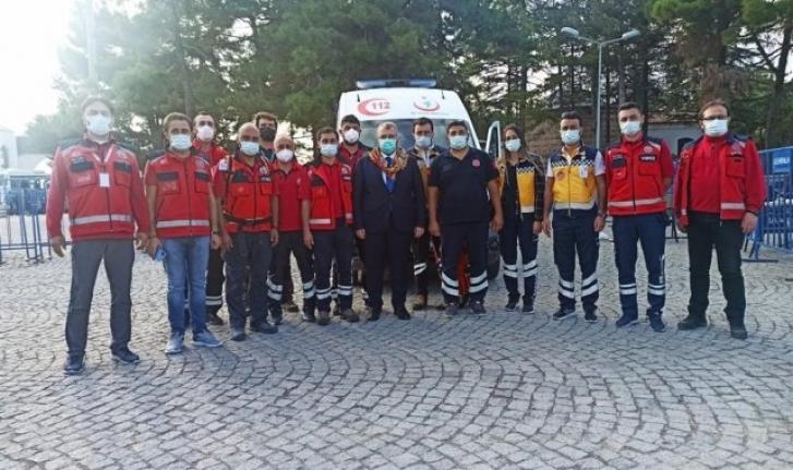 Sağlık Bakan Yardımcısı sağlık çalışanlarını ziyaret etti