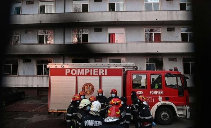 Romanya'da hastanede yangın: 9 ölü